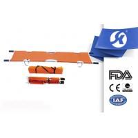 Quality Waterproof Leather Hospital Medical Emergency Stretcher With Folding for sale