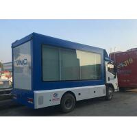 Quality 4x2 Scrolling Light Box LED Advertising Truck For Posters Mobile Roadshow for sale