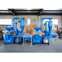 Quality 100 Mesh No Dust Plastic Recycling Equipment Compact Structure Overload Protection for sale