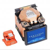 Quality Automatic Fiber Optic Tools 7800mAh Battery Fusion Splicing Machine With Screen for sale
