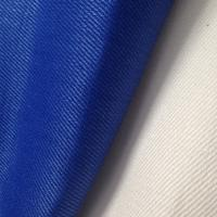 Quality 370GSM Blue Twill Natural Hemp Fabric , Soft Hemp Textiles for Jujitsu Trousers Clothing / Bedding for sale