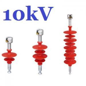 Quality High Tension Composite Suspension Insulator , 10kv Overhead Line Insulators for sale
