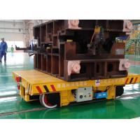 Quality Foundry Plant Die Mold Transfer Cart Steel Material With 4 Wheel / Interbay for sale