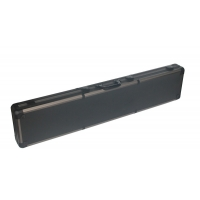 Buy cheap High quality aluminum gun case black gun storage box with metal handle from wholesalers
