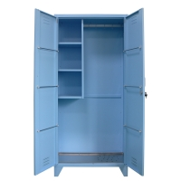 Quality Knock Down Metal Locker Shelves For Mop And Tower Bar for sale