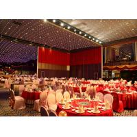 Stackable Acoustic Partitions ,  Folding Internal Doors , Restaurant Movable Partitions