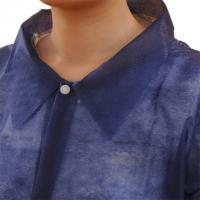 Quality Disposable SMS Nonwoven Chemistry Lab Coat for sale