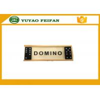 Buy cheap Promotional Playing Game Double Six Dominoes Game Set With Wooden Box product