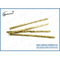Quality High Melting Point Carbide Welding Rod With 100% Virgin Tungsten Carbide Material for sale
