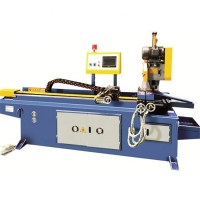 China CNC Automatic Hydraulic Stainless Steel Pipe Cutting Machine For Tube Circular Sawing on sale