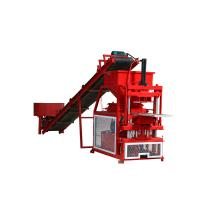 Quality Hydraulic Earth Block Making Machine Fully Automatic Less Workers Involved for sale