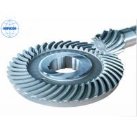 Quality Customized Steel Crown Wheel Gear with CNC Machining , Powder Coating for sale