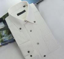 China men's long sleeve dress shirts,suit shirts,company uniforms,037 on sale