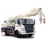 Buy cheap FOTON Lifting Material Truck Mounted Crane 10-16 Ton , Full Hydraulic Truck Crane from wholesalers