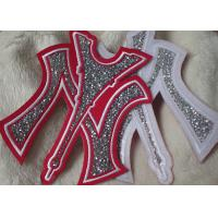 China Iron On Backing Stone Custom Embroidered Patches With Handmade on sale