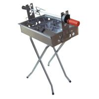 Quality Rotating stainless steel barbecue for sale