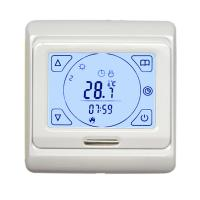 Quality 7 Day Programmable Electronic Room Thermostat , Touch Screen Floor Heating Thermostat for sale