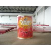 Quality canned tomato puree / same as Watties 575g*12 for sale