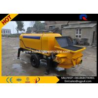 China Hydraulic Static Pump Concrete 0.6M3 Hopper Capacity S Distribution Pipe Type on sale