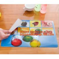 China Wholesale price dining mat PVC Fabric silicone placemat table mat,tableware accessories round plastic placemat PVC water on sale