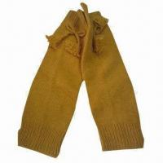 Quality 100% acrylic knit legwarmers for sale