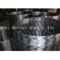 Quality Ss005 Galvanized Razor Barbed Wire , Concertina Razor Wire 0.5mm Thickness for sale