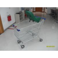 Buy cheap Commercial Shopping Cart 210L With Baby Capsule / Safety Plastic Parts from wholesalers