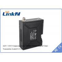 Buy cheap UGV / AGV COFDM Wireless Video Transmitter Wtih Digital LED Control Panel from wholesalers