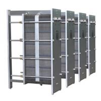 China 304 Stainless Steel Flat Plate Heat Exchanger , Wort / Beer Pasteurization Equipment on sale