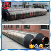 Quality BIG DIAMETER FLANGED RUBBER DISCHARGE AND SUCTION  DREDGING HOSE for sale