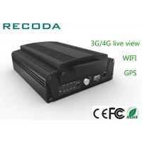 Buy cheap 4ch 1080P HDD Mobile Vehicle DVR 3G / 4G Live View Car Dvr Video Recorder from wholesalers