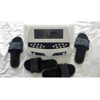 Quality Detox Machine AH-805 Dual Foot Detox SPA Dual Screen Display Foot Massage Ion Cleansing With Massage Slipper for sale