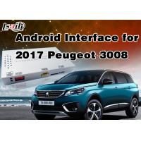 Quality 1.6Ghz 4-Core Android 6.0 Navigation GPS Multimedia System for Peugeot 2008 / 208 / 408 / 508 Support Mirrorlink for sale