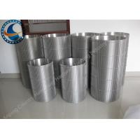 Buy cheap Customized Stainless Steel Wedge Wire Screen Drum For Self Cleaning Strainer from wholesalers