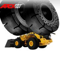 Quality Wheel Loader Solid Tire for Volvo Vehicle 15.5-25, 17.5-25, 20.5-25, 23.5-25, 26.5-25, 29.5-25, 35/65-33 for sale