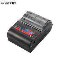 Bluetooth Interface Type Wireless Mobile Printer 12V 1A 50 - 80mm/s Printing for sale