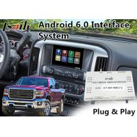 Quality GMC Sierra Android 6.0 Navigation Video Interface for 2014-2018 support APPS/MCU Upgrade for sale