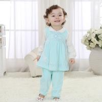 China Brand baby clothes new baby girl clothes 3 piece cotton skirt outfit (0-3 Year) on sale