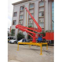 Quality 4.2t Total Weight Spider Pump For Concrete HG13 Cable Remote Control 360 degree Slewing for sale