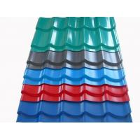 Buy Color Coated Corrugated Steel Roofing Sheets Galvalume Steel Roof Panel at wholesale prices