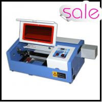 Quality 50W Portable Mini Laser Engraving Machine For Rubber / Wood / Acrylic / Glass for sale