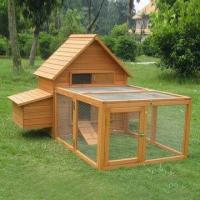Buy cheap Chicken Coop, Made of Kiln-dried Chinese Fir, Run, Galvanized Wire Mesh product