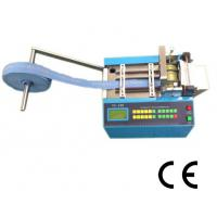 Quality Velcro Tape Full  Automatic Webbing Cutting Machines Adjustable Speed User Friendly for sale