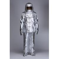 Quality Safety Aluminized Fire Proximity Suit Fire Resistant Garment with Aluminum Foil for sale