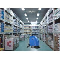 Quality Blue Semi Automatic Compact Floor Scrubber Machine For Drugstore / Store House for sale