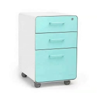 Quality Lockable Steel Mobile Pedestal Cabinet Assembly Structure A4 Files for sale