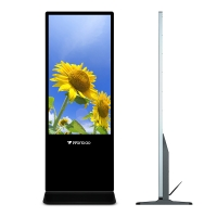 Quality 65 Inch Full HD Floor Stand Digital Signage Media Player Advertising Equipment for sale
