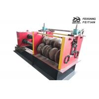 Quality Highway Guardrail Automatic Roll Forming Machines , Sheet Metal Crimping Machine for sale