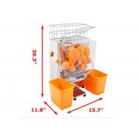 Buy cheap Catring Commercial Orange Juice Squeezing Machine With Peeling product