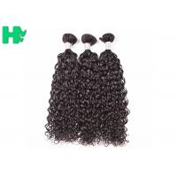 Quality Original Peruvian Human Hair Extension , Natural Wave Virgin Human Hair Weft No Smell for sale